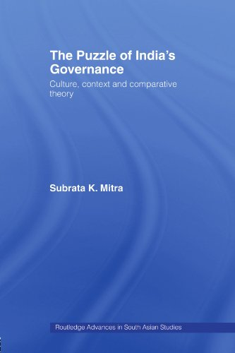 9780415467308: The Puzzle of India's Governance: Culture, Context and Comparative Theory (Routledge Advances in South Asian Studies)