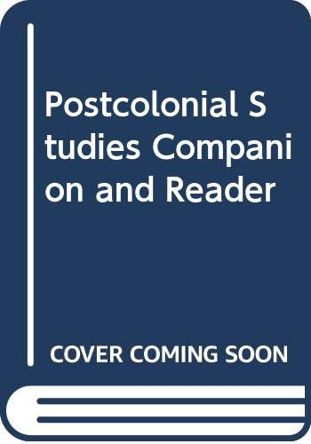 9780415467377: Postcolonial Studies Companion and Reader