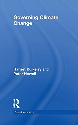 9780415467681: Governing Climate Change (Global Institutions)