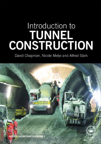 9780415468411: Introduction to Tunnel Construction (Applied Geotechnics)
