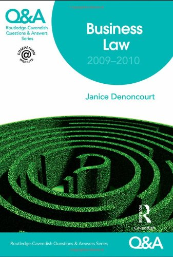 9780415468718: Q&A Business Law 2009-2010 (Questions and Answers)