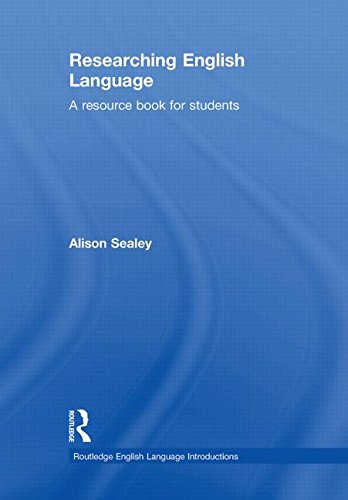 9780415468978: Researching English Language: A Resource Book for Students (Routledge English Language Introductions)