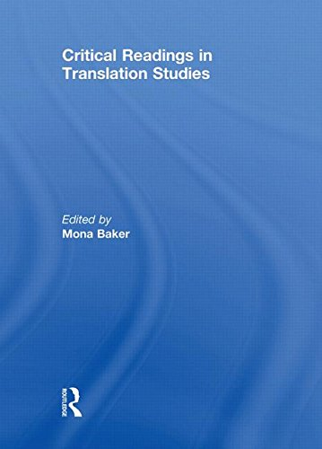 9780415469548: Critical Readings in Translation Studies