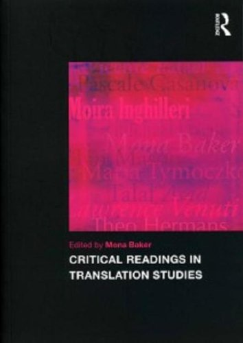 9780415469555: Critical Readings in Translation Studies