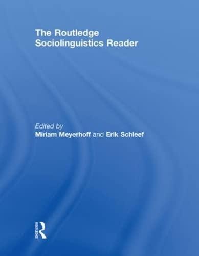 9780415469562: The Routledge Sociolinguistics Reader