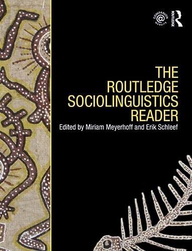 9780415469579: The Routledge Sociolinguistics Reader (Volume 2)