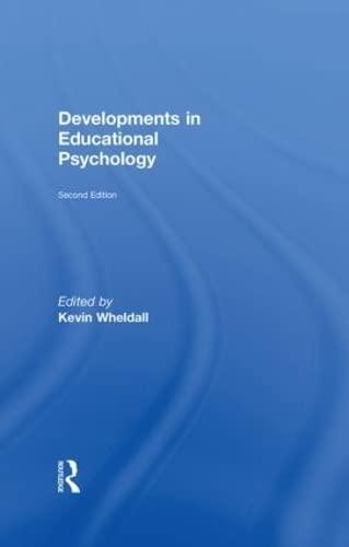 9780415469982: Developments in Educational Psychology
