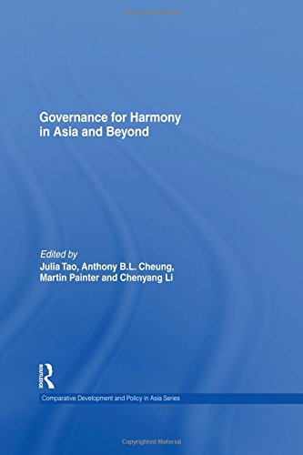 9780415470049: Governance for Harmony in Asia and Beyond (Comparative Development and Policy in Asia)