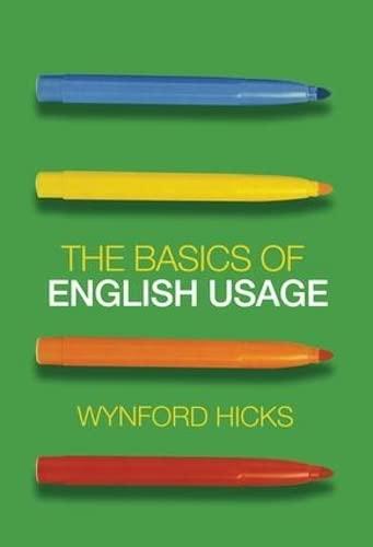 9780415470230: The Basics of English Usage