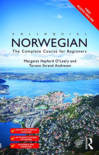 9780415470360: Colloquial Norwegian: A complete language course