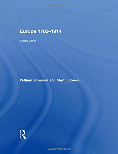 9780415470650: Europe 1783–1914