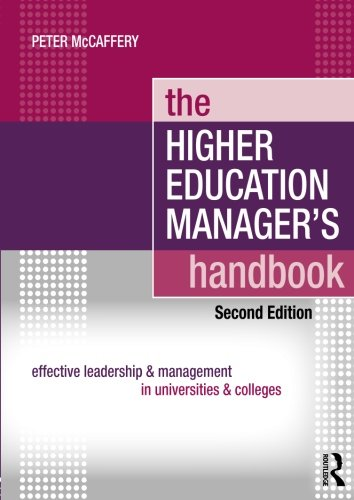 9780415471237: The Higher Education Manager's Handbook: Effective Leadership and Management in Universities and Colleges