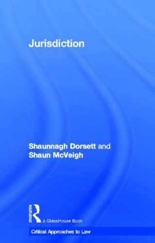 9780415471633: Jurisdiction (Critical Approaches to Law)