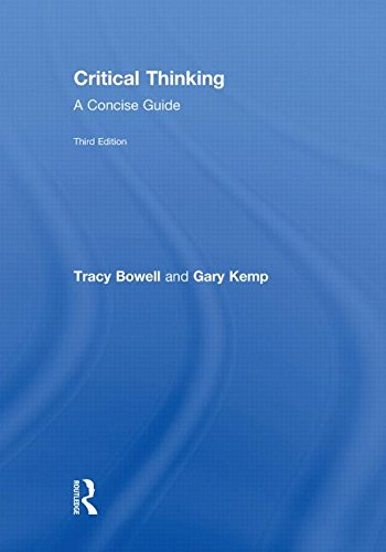 9780415471824: Critical Thinking: A Concise Guide
