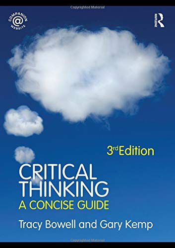 9780415471831: Critical Thinking: A Concise Guide