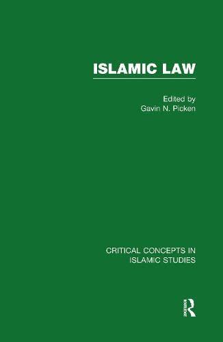 9780415472838: Islamic Law V1