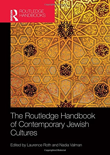 The Routledge Handbook of Contemporary Jewish Cultures (Hardcover): Valman Nadia