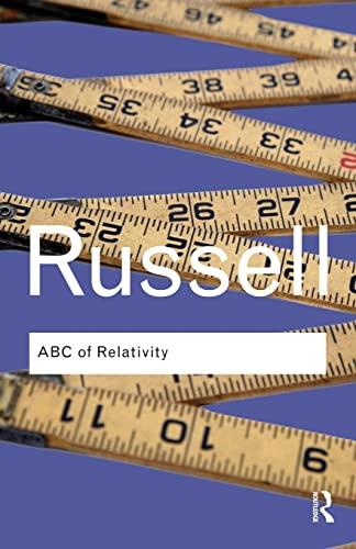 9780415473828: ABC of Relativity (Routledge Classics) (Volume 1)