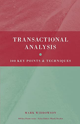 9780415473873: Transactional Analysis: 100 Key Points and Techniques