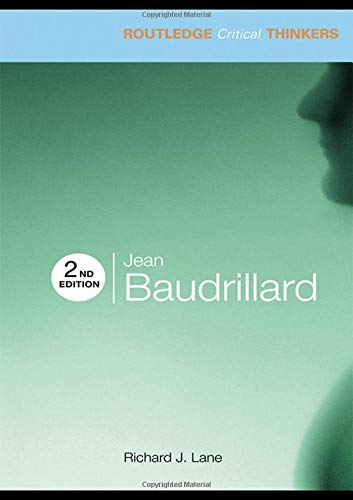 9780415474474: Jean Baudrillard (Routledge Critical Thinkers)
