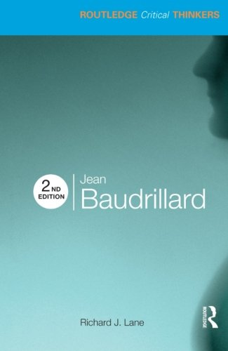 9780415474481: Jean baudrillard (Routledge Critical Thinkers)