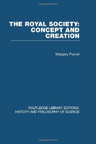9780415474948: The Royal Society: Concept and Creation