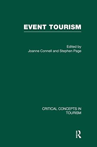 9780415475174: Event Tourism (Critical Concepts in Tourism)