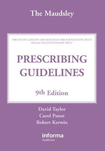 9780415475228: The Maudsley Prescribing Guidelines: Ninth Edition (5 book set)
