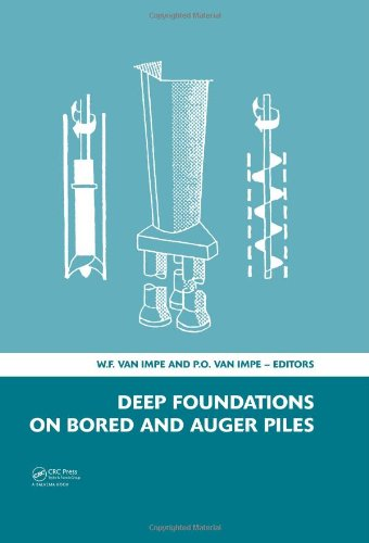 Deep Foundations on Bored and Auger Piles - BAP V: 5th International Symposium on Deep Foundations ...