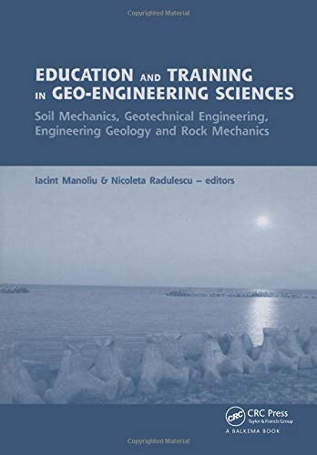 Education and Training in Geo-Engineering Sciences: Soil: Manoliu, i
