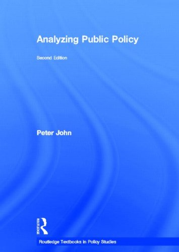 9780415476263: Analyzing Public Policy (Routledge Textbooks in Policy Studies)