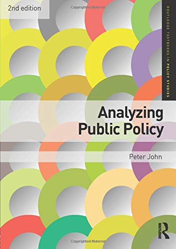 9780415476270: Analyzing Public Policy (Routledge Textbooks in Policy Studies)