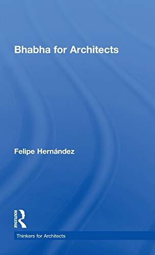9780415477451: Bhabha for Architects