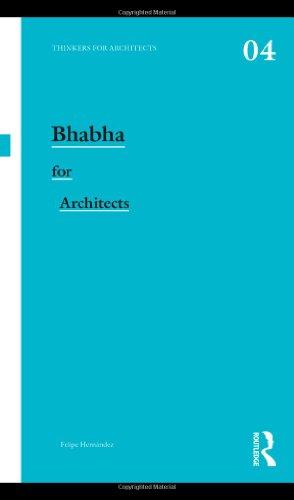 9780415477468: Bhabha for Architects