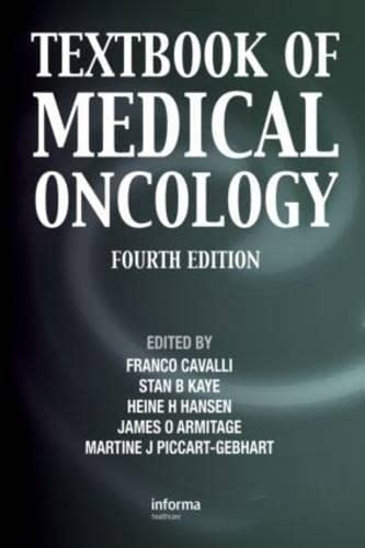 9780415477482: Textbook of Medical Oncology, Fourth Edition (Cavalli, Textbook of Medical Oncology)