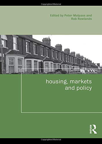 9780415477789: Housing, Markets and Policy (Housing and Society Series)