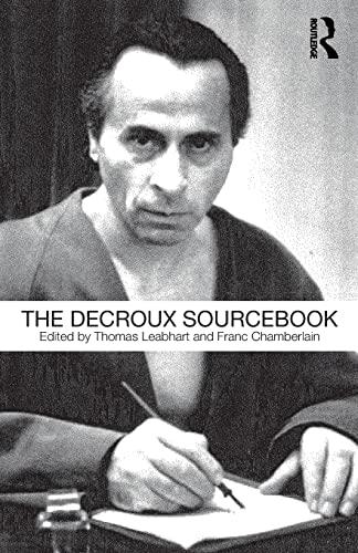 9780415478007: The Decroux Sourcebook