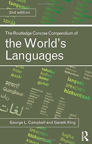 9780415478410: The Routledge Concise Compendium of the World's Languages, Second Edition