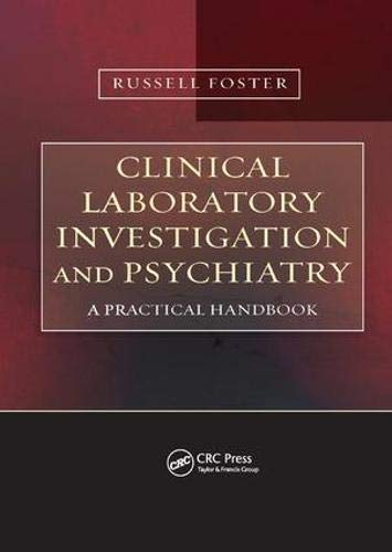9780415478441: Clinical Laboratory Investigation and Psychiatry: A Practical Handbook