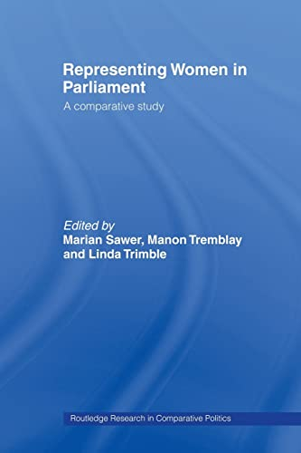 9780415479523: Representing Women in Parliament