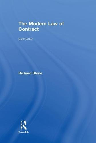 9780415481366: The Modern Law of Contract: Eighth Edition