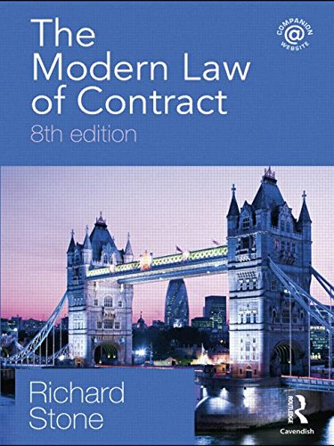 9780415481373: The Modern Law of Contract, 8th Edition (Volume 3)