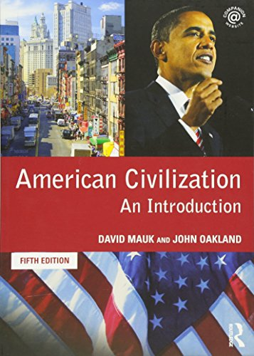 9780415481625: American Civilization: An Introduction