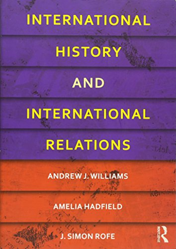 9780415481793: International History and International Relations