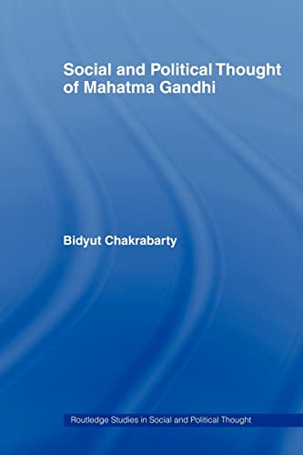 9780415482097: Social and Political Thought of Mahatma Gandhi (Routledge Studies in Social and Political Thought)