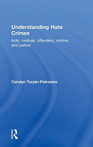 9780415484008: Understanding Hate Crimes: Acts, Motives, Offenders, Victims, and Justice