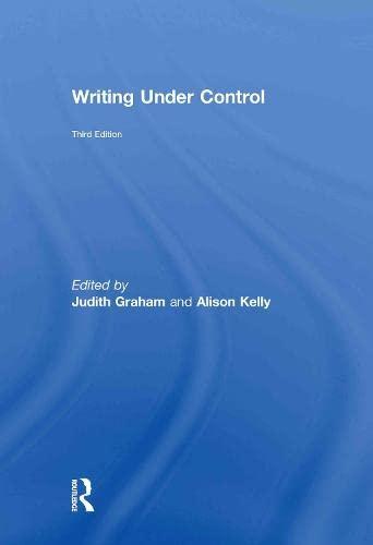 9780415484053: Writing Under Control