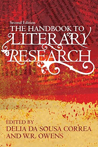 9780415485005: The Handbook to Literary Research
