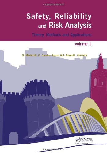 9780415485135: Safety, Reliability and Risk Analysis: Theory, Methods and Applications (4 Volumes + CD-ROM)