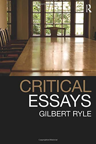 9780415485487: Critical Essays: Collected Papers Volume 1